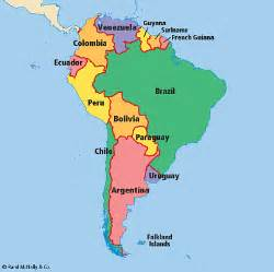 south america speaking countries map south america quotes quotesgram