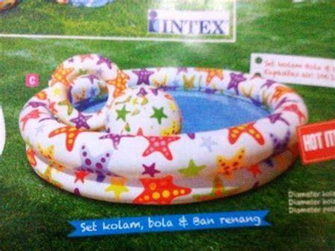 Kolam Renang Intex 59469 Kolam Pelung Bola Harga Pabrik maret 2014 si kecil