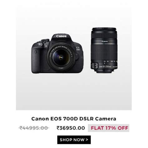 dslr offers canon eos 700d dslr cameras canon eos 700d dslr