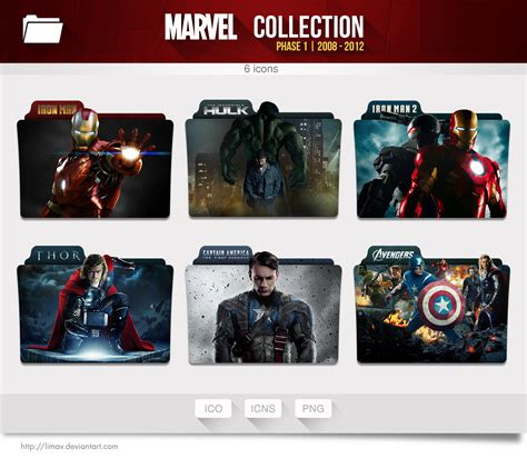 download film exo first box marvel collection folders phase 1 by limav on deviantart