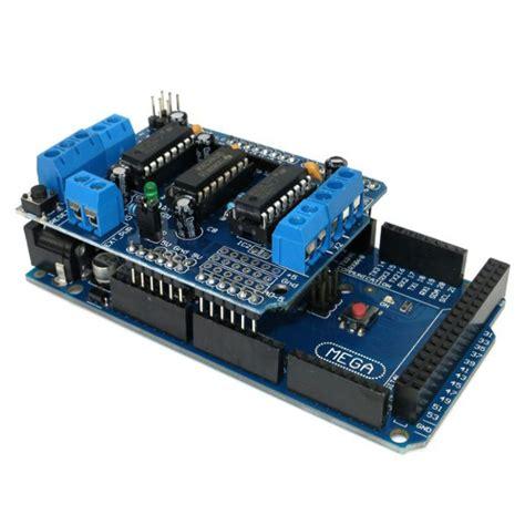 tutorial arduino mega l293d motor drive shield mega2560 kit for arduino mega