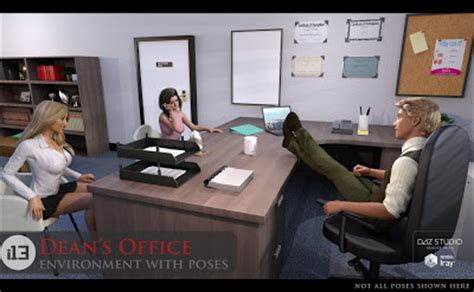 Deans Office by Daz Studio 3 For Free Daz 3d I13 Dean S