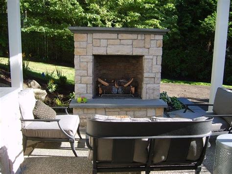 gas outdoor fireplace small outdoor fireplace outdoor