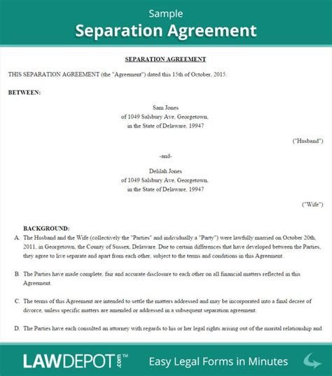 common separation agreement template bc common separation agreement template bc templates