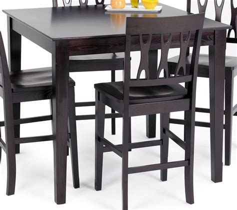 Dining Table Espresso Abbie Espresso Counter Dining Table From New Classics 04 0605 012 Coleman Furniture