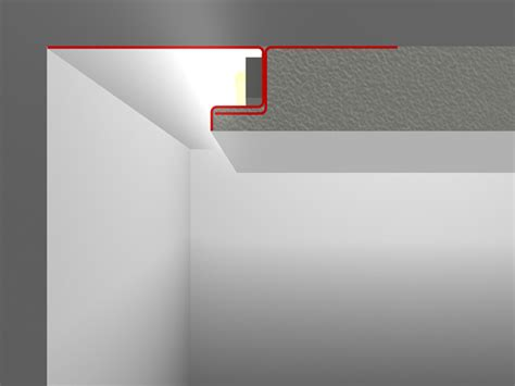 decken beleuchtung snl plaster profile led profilelement gmbh