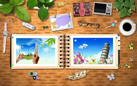desk for digital artist photo album pn the desk wallpaper 7199
