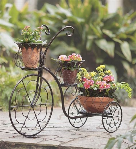 Iron Bicycle Planter by 18 Mind Blowing Bicycle Planter Ideas For Your Garden Or