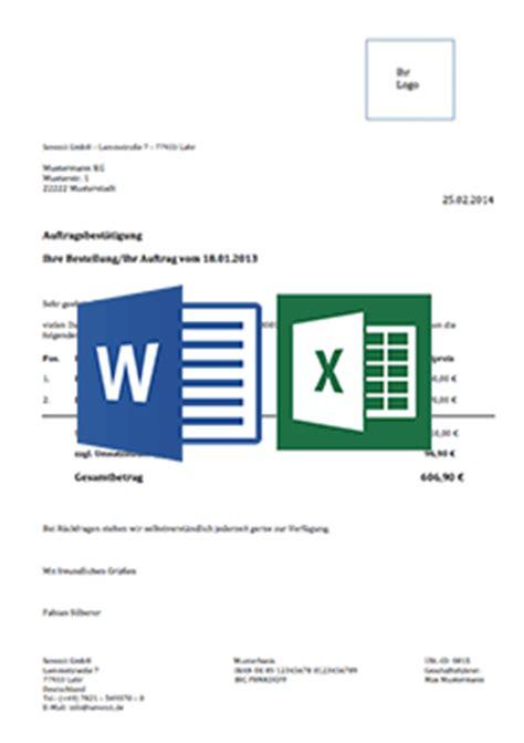 Word Vorlage Einzahlungsschein Rechnungsvorlage F 252 R Word Excel Downloaden Kostenlos