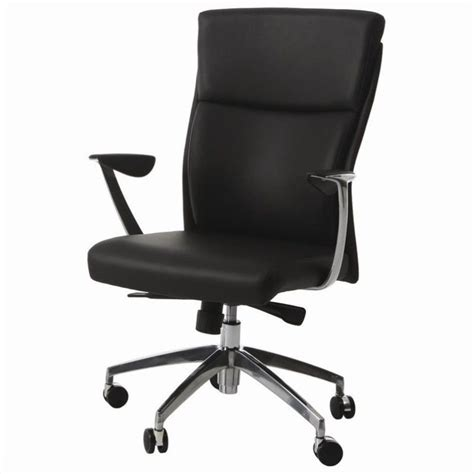 pastel furniture new jersey office chair in black