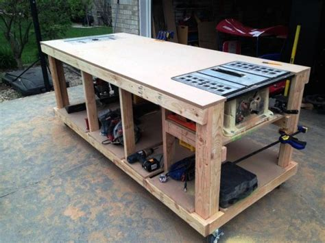 cool work benches garage workbench plans pdf cool woodworking
