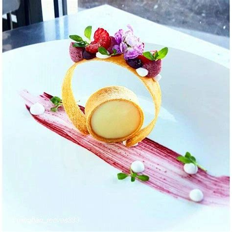Tuile Dessert by Best 25 Gourmet Desserts Ideas On