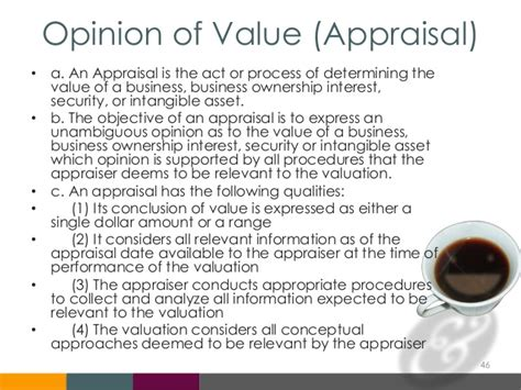 Appraisal Opinion Of Value Letter Business Valuation 101 Demystifying Business Valuation For Small Bus