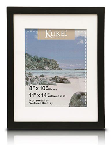 10 x 12 matted picture frames klikel 8 x 10 picture frame black wooden