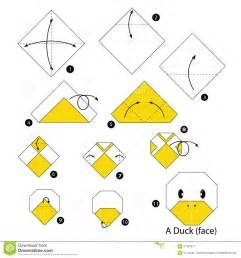 How To Make A Paper Duck - passo a passo de origami pato pesquisa