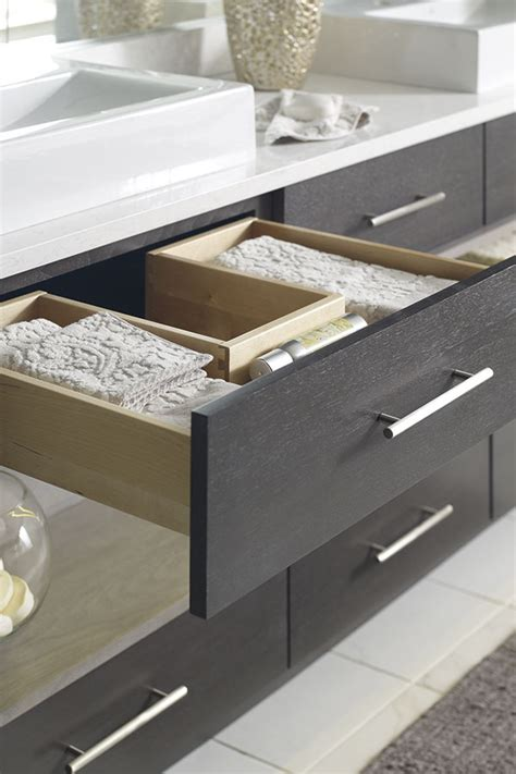 shaped cabinet drawer omega cabinetry