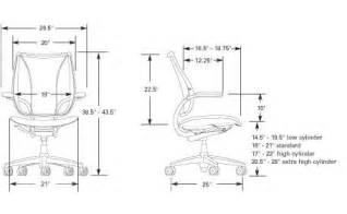 Desk Chair Dimensions Office Chair Dimensions My Home Style