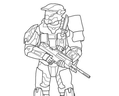 halo color pages az coloring pages