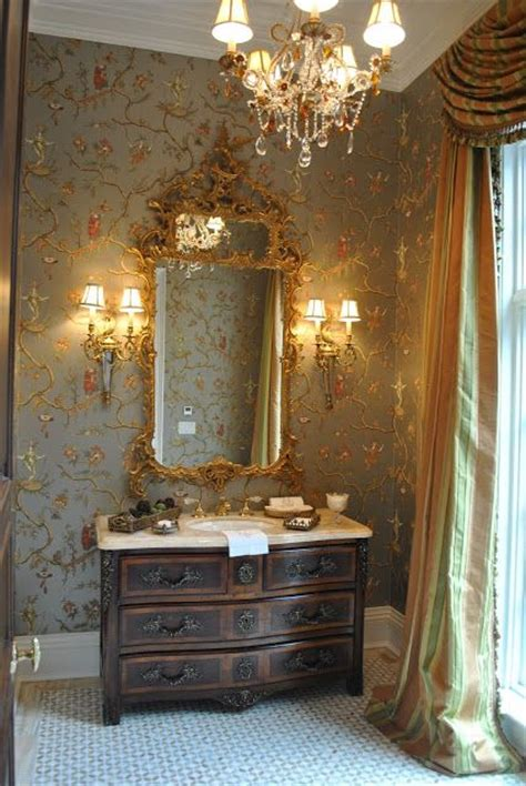 beautiful powder rooms beautiful powder room wallpaper is jester caprice in