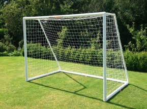 Pvc Bench Footie Goal 8 X6 Garden Match Football Goal With Free