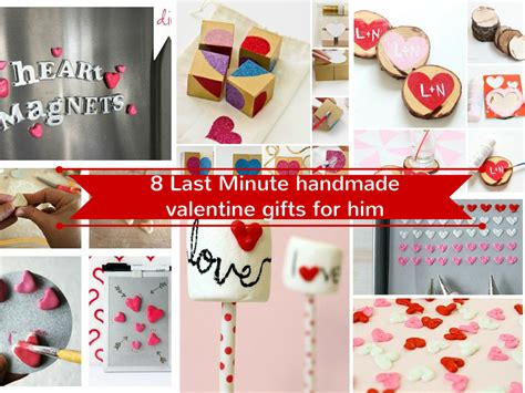 Handmade Gift For Him - 17 last minute handmade gifts for him