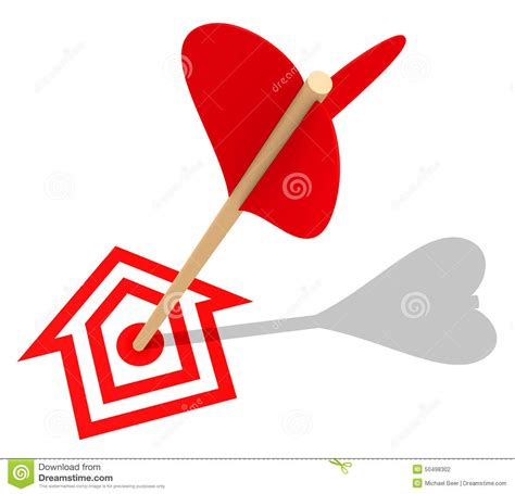 target house the house target stock illustration image 50498302