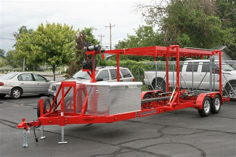 boat car trailer airboat and hydraulic stack trailers