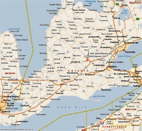 map of western ontario canada electricomm map southwestern ontario community