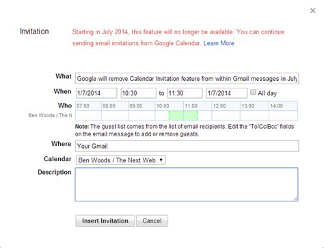 Where Is Calendar In Gmail Will Remove The Calendar Invitation Feature From