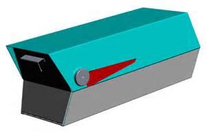 Mid Century Modern Mailbox Mid Century Modern Mailbox 3d Cad Design Mid Century