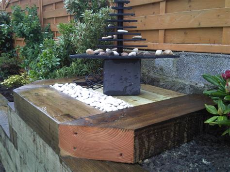 Railway Sleepers Bristol by Turfing J B Landscapes Bristol For Beautiful Lawns All