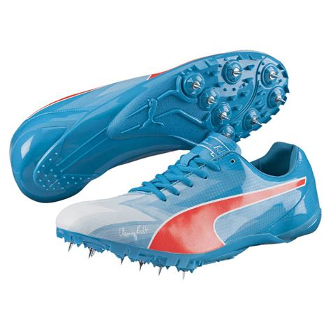 athletic spike shoes bolt evospeed electric v3 running spikes 50