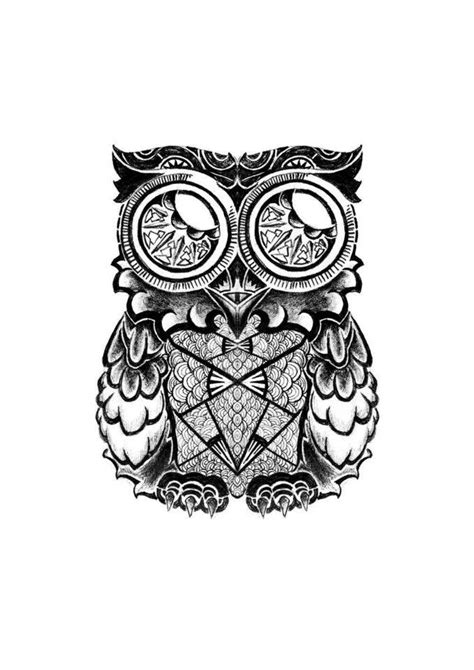 tattoo owl art maori owl tattoo by asilkandemirer on deviantart