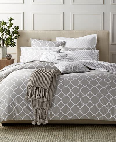 charter club bedding charter club damask designs geometric dove bedding