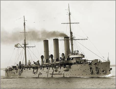 cruiser aurora imperial russian navy protected cruiser aurora in 1910 a