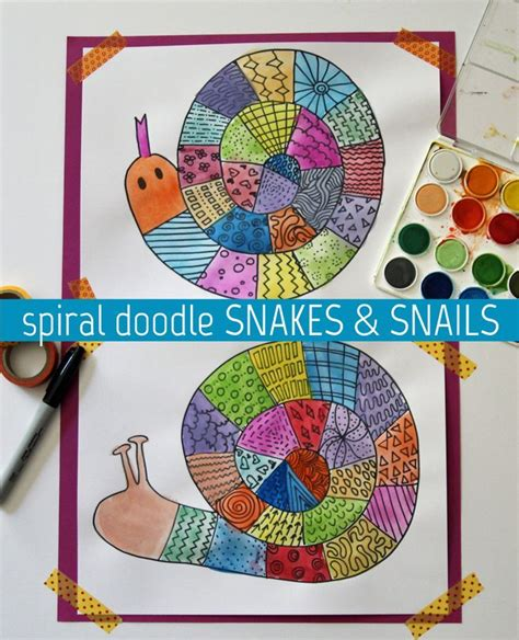 doodle snails meaning 25 best ideas about arts and crafts on