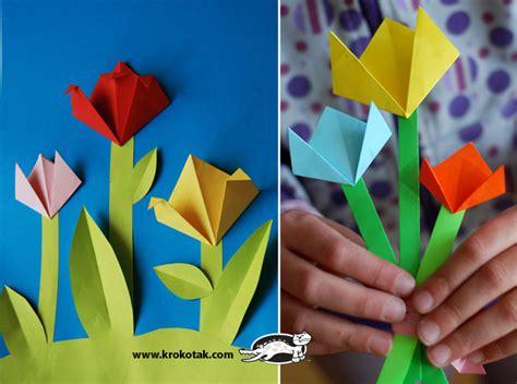 Pop Up Name Flower krokotak pop up flower card