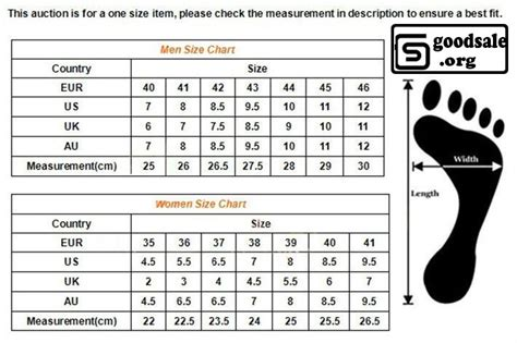 nike shoe size chart sneaker width sizes 28 images the most interesting