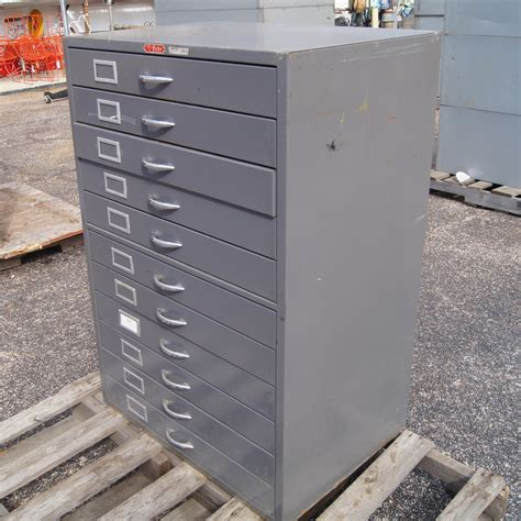 dark grey filing cabinet 1 vintage dark grey metal flat file cabinet 11 drawers