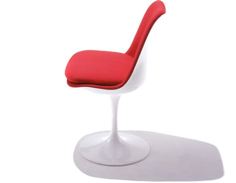 tulip chair saarinen tulip side chair fully upholstered hivemodern com