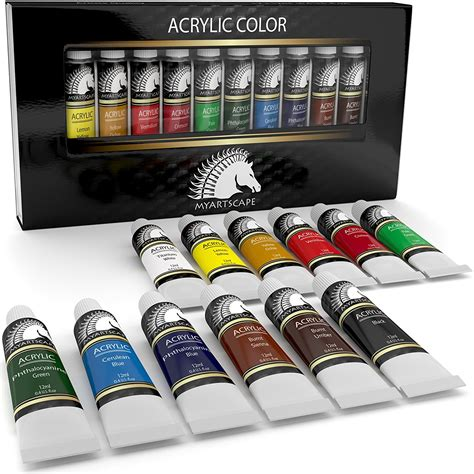 acrylic colors acrylic paint set artist quality paints for painting