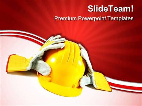 health and safety powerpoint templates safety construction