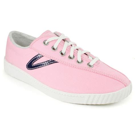 tennis express tretorn s nylite canvas pink navy shoes