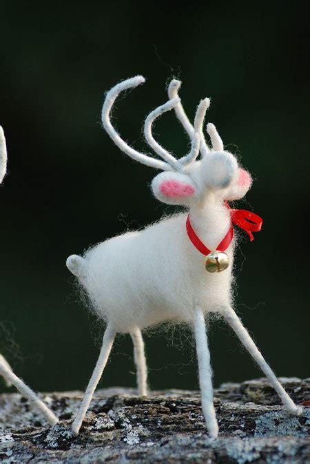 Handmade Reindeer - etsy item of the day handmade white reindeer