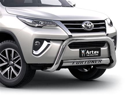 Front Guard Abs Model Fortuner A White With Ledbracket Avanza 2011 2016 toyota fortuner accessories philippines best accessories 2017