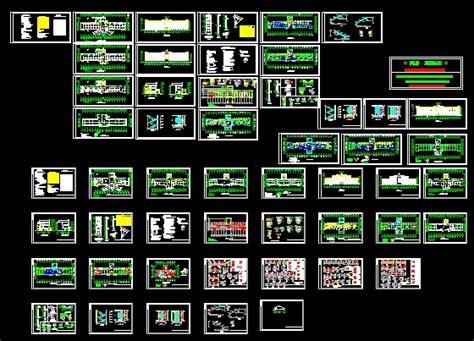 hospital laundry layout plan cad dwg a full set of hospital free download autocad blocks cad