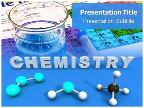 Kitchen Chemistry Experiments Ppt General Chemistry Powerpoint Ppt Templates Ppt Background