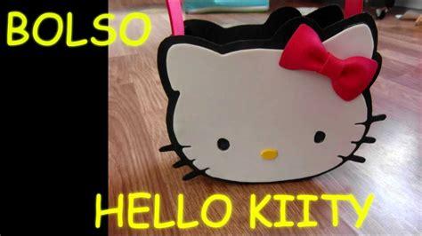 como hacer la cabeza de hello kity para disfraz manualidades como hacer bolso dulcero hello kitty amigo