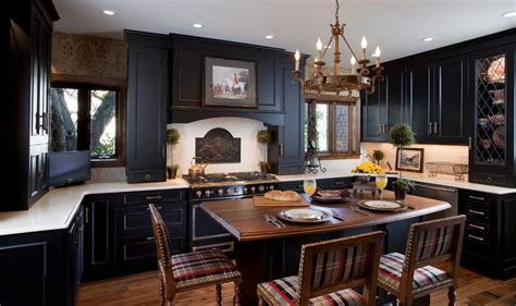 One Color Fits Most Black Kitchen Cabinets | one color fits most black kitchen cabinets