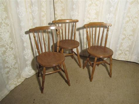 3 Beech Elm Country Kitchen Dining Chairs Antiques Atlas Elm Dining Chairs